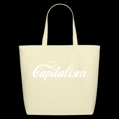 Enjoy Capitalism - Eco-Friendly Cotton Tote