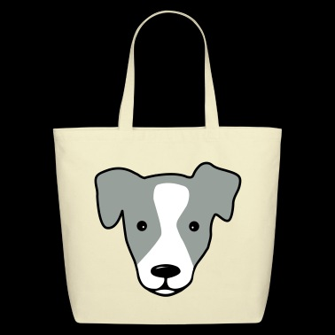 jack russell - Eco-Friendly Cotton Tote