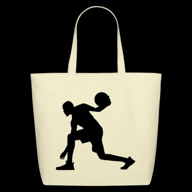 Basketball Basketball Player - Eco-Friendly Cotton Tote