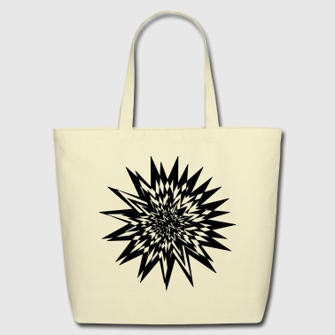 abstract - Eco-Friendly Cotton Tote