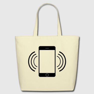 Vibrating mobile phone - Eco-Friendly Cotton Tote