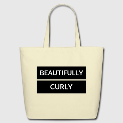 Beautifully Curly 2 - Eco-Friendly Cotton Tote
