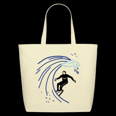 Surfer - Eco-Friendly Cotton Tote