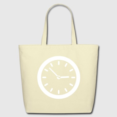 Clock - Eco-Friendly Cotton Tote