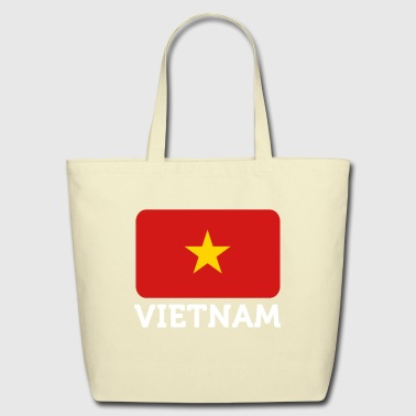 National Flag Of Vietnam - Eco-Friendly Cotton Tote