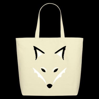 Fox silhouette, beautiful autumn design. - Eco-Friendly Cotton Tote