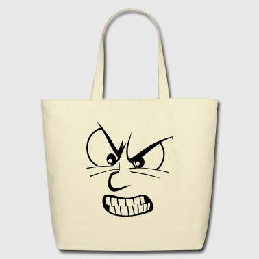Angry / anger / enraged - Eco-Friendly Cotton Tote