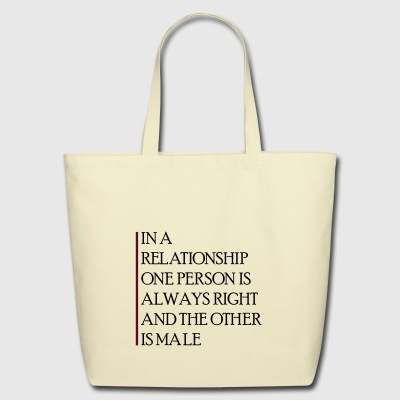 relationship quote - Eco-Friendly Cotton Tote