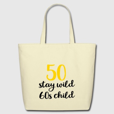 50th birthday - Eco-Friendly Cotton Tote