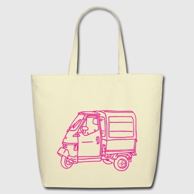 Tricycle Transporter - Eco-Friendly Cotton Tote