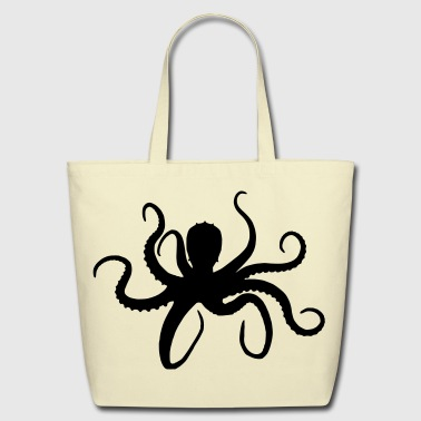 Octopus - Eco-Friendly Cotton Tote