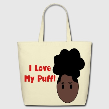 Afro Puff - Eco-Friendly Cotton Tote