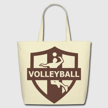 volleyball - Eco-Friendly Cotton Tote