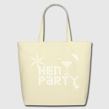 Hen Sparkles - Eco-Friendly Cotton Tote