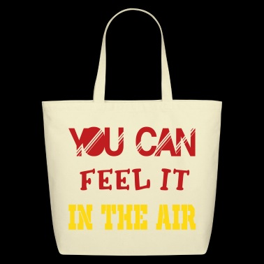 in the air - Eco-Friendly Cotton Tote