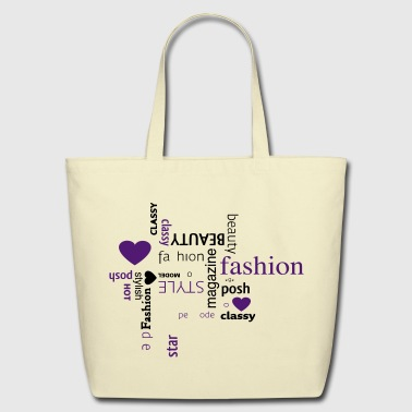 fashion - Eco-Friendly Cotton Tote