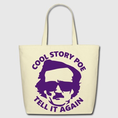 Cool Story Poe - Eco-Friendly Cotton Tote