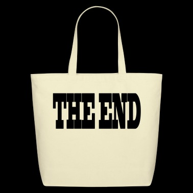 THE END - Eco-Friendly Cotton Tote