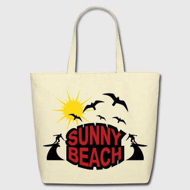 Sunny Beach - Eco-Friendly Cotton Tote