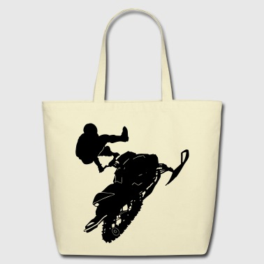 Snowmobil - Eco-Friendly Cotton Tote
