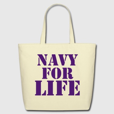 NAVY FOR LIFE - Eco-Friendly Cotton Tote
