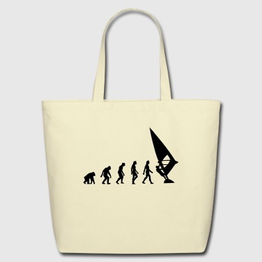 The Evolution of Windsurfing - Eco-Friendly Cotton Tote