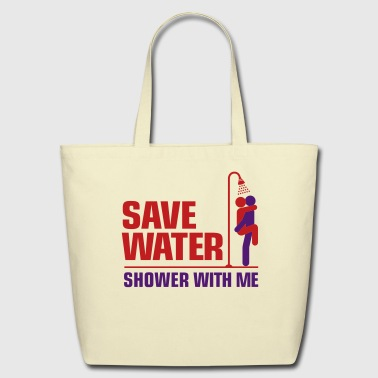 Save Water 3 (2c)++ - Eco-Friendly Cotton Tote