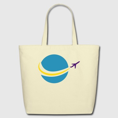 travel - Eco-Friendly Cotton Tote
