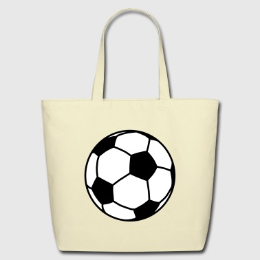 football / ball / soccer ball 2c - Eco-Friendly Cotton Tote