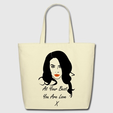 You Are Love - Eco-Friendly Cotton Tote