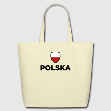 National Flag of Poland - Eco-Friendly Cotton Tote