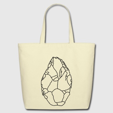 Axe Stone Age - Eco-Friendly Cotton Tote