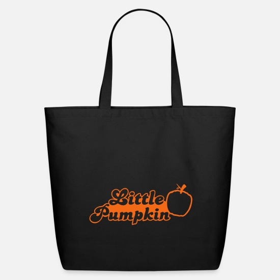 Pumpkin Bags & Backpacks - little pumpkin for little baby - Eco-Friendly Tote Bag black