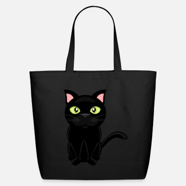 9457f717c9 Staring Kitty Stare - Eco-Friendly Tote Bag