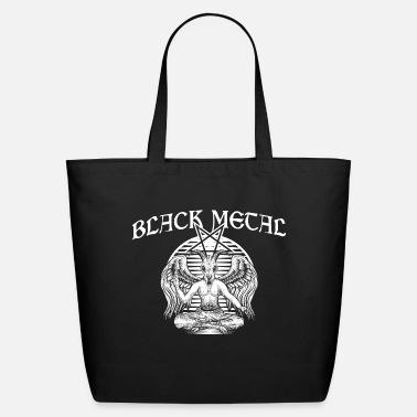Black Metal black metal - Eco-Friendly Tote Bag