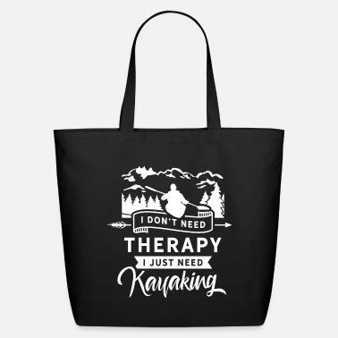 Kayak Kayak Kayaks Kayaking Kayakers Kayaker - Eco-Friendly Tote Bag