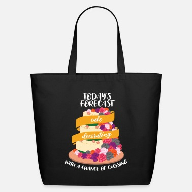 Decoration Cussing Cake Decorator - Funny Decorating Baker - Eco-Friendly Tote Bag