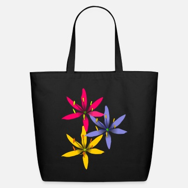 tropical flowers - Eco-Friendly Tote Bag