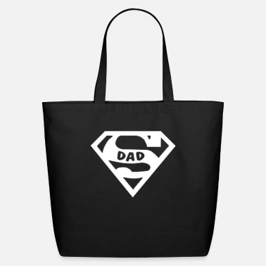 Dad Super dad t-shirt - Eco-Friendly Tote Bag