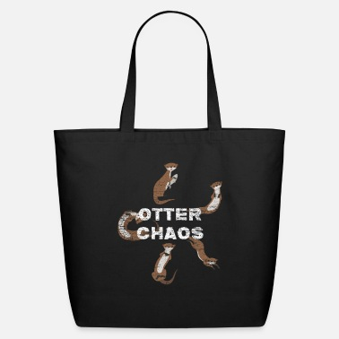 Chaos Otter Chaos - Eco-Friendly Tote Bag