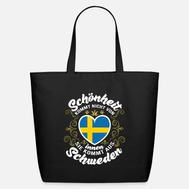 Sweden Beauty comes from Sweden - Eco-Friendly Tote Bag