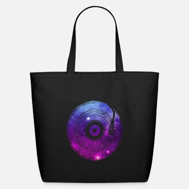 Record Space Vinyl - Eco-Friendly Tote Bag