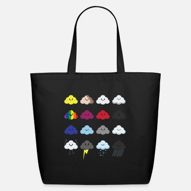 Meteorologist Rain Drops Cloud Rainy Wet Clouds Cloudy Day Mood - Eco-Friendly Tote Bag