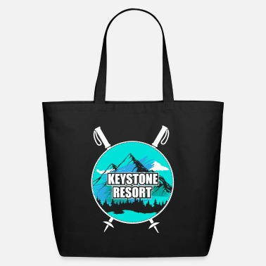 Ski Resort Keystone Resort Ski Resort Snow Wintersport - Eco-Friendly Tote Bag