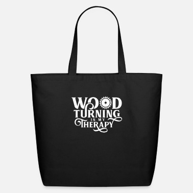 Turn Woodturning Turn Timber Wood Turning - Eco-Friendly Tote Bag
