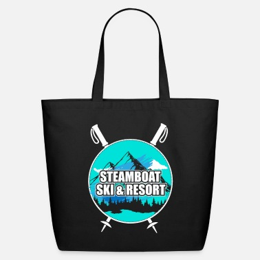Ski Resort Steamboat Ski Resort Ski Resort Snow Wintersport - Eco-Friendly Tote Bag