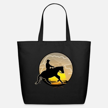 Western Riding Western Riding, Western - Eco-Friendly Tote Bag