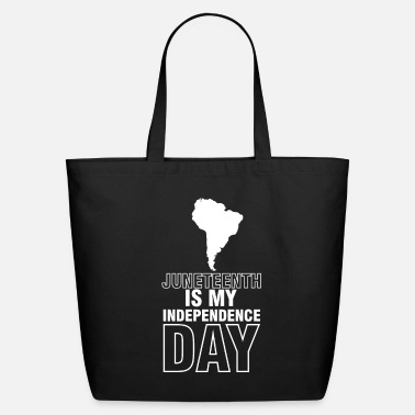 Texas Juneteenth Celebration Black Flag June 19 1865 - Eco-Friendly Tote Bag