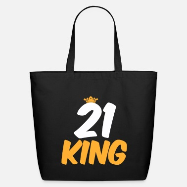Birthday 21. Birthday Present 21 Years Old Funny Gift - Eco-Friendly Tote Bag