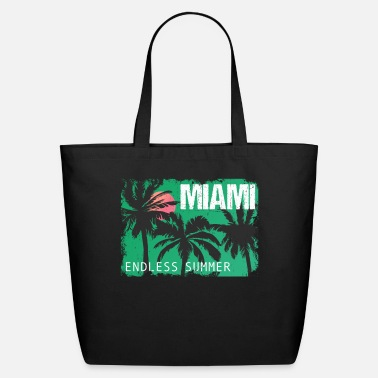 Modern Miami Endless Summer - Eco-Friendly Tote Bag